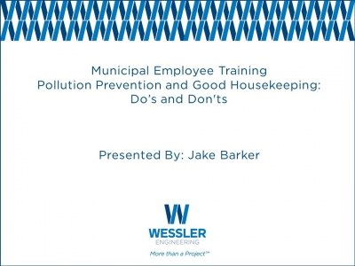 Pollution Prevention & Good Housekeeping Part I