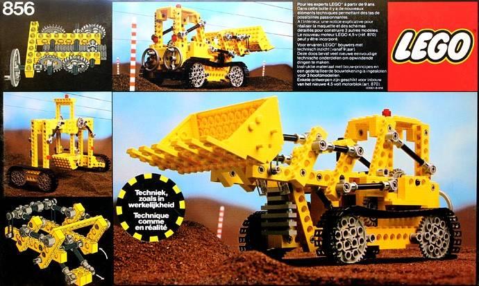 LEGO Bulldozer 856