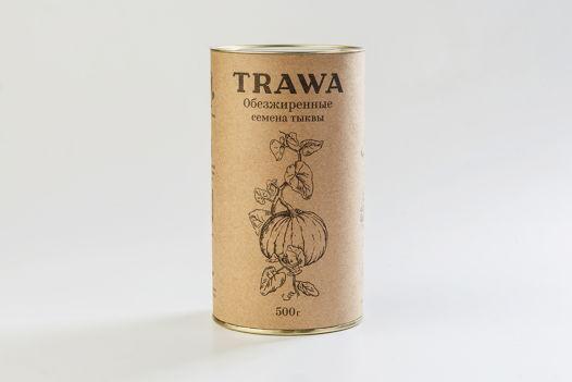Обезжиренные семена тыквы TRAWA
