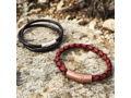 Workshop Underground: Mens Leather Bracelet