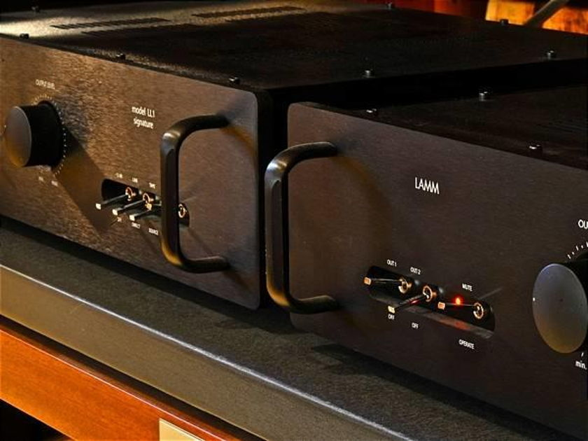 Lamm Industries LL-1 Signature 4 chassis Reference Preamp