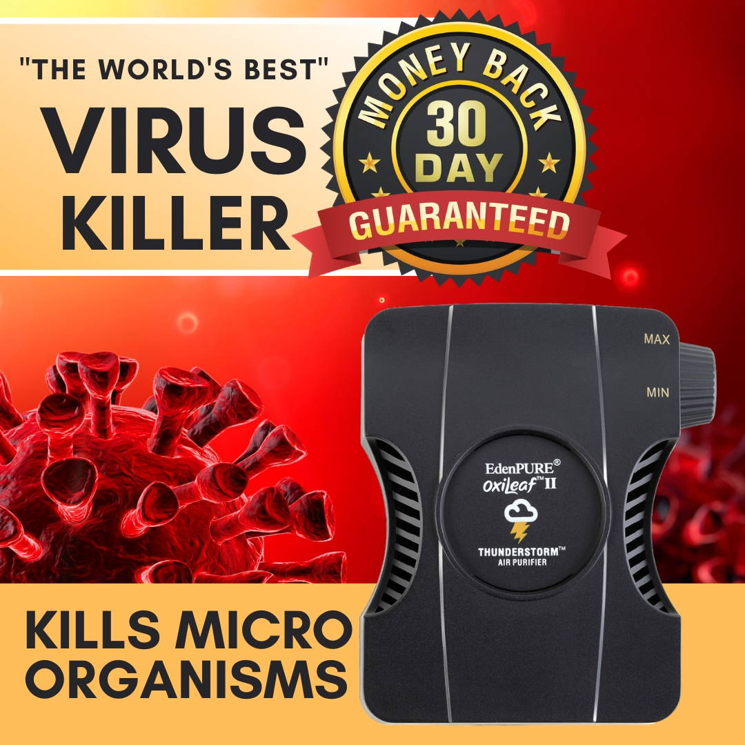 The Best Air Purifier for Viruses - OxiLeaf™ Air Purifier