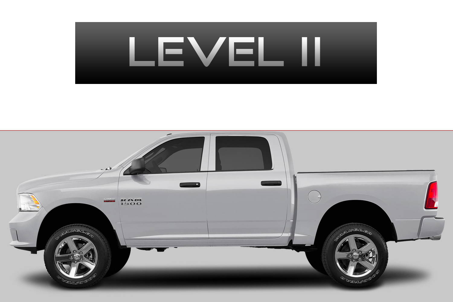 Dodge RAM 1500 Off-Road Customizing Package Level 2 by 3C Trucks
