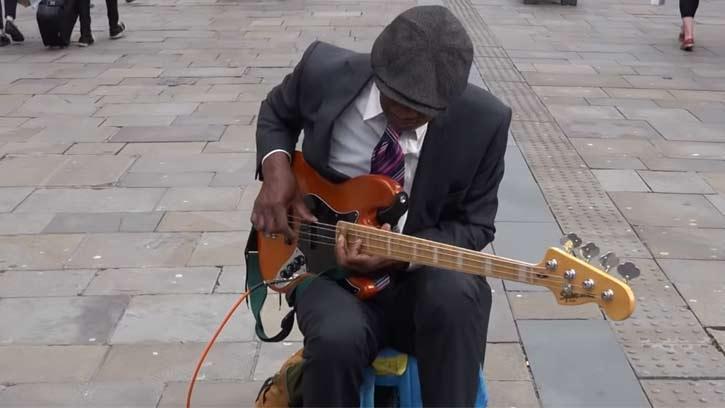 Meet OJAY the Jimi Hendrix of the Bass