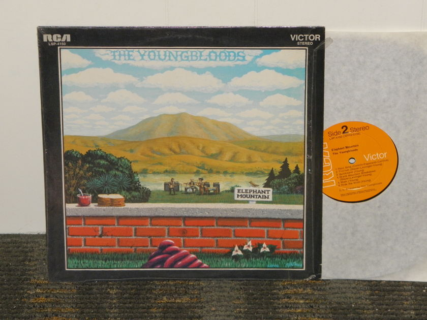 The Youngbloods - Elephant Mountain RCA LSP 4150 (Non Dynaflex) from 1969 Still in shrink