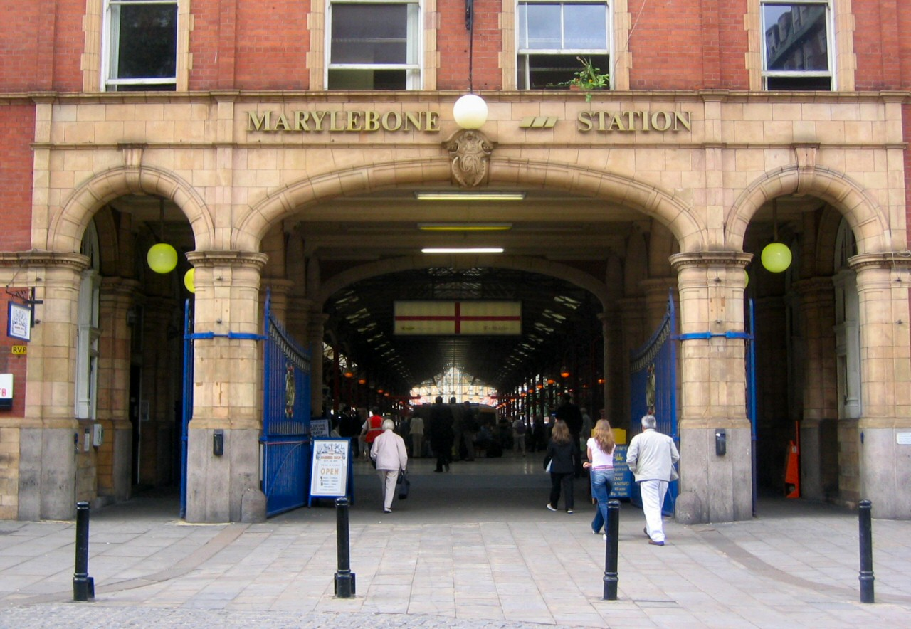 Marylebone Station – Images from Finchley
