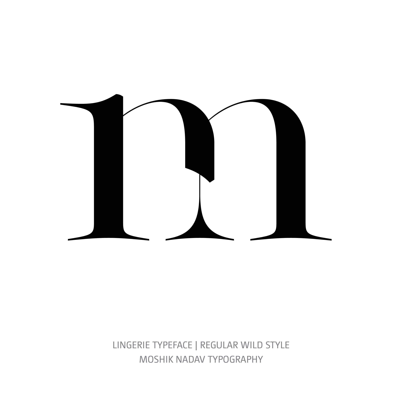 Lingerie Typeface Regular Wild m