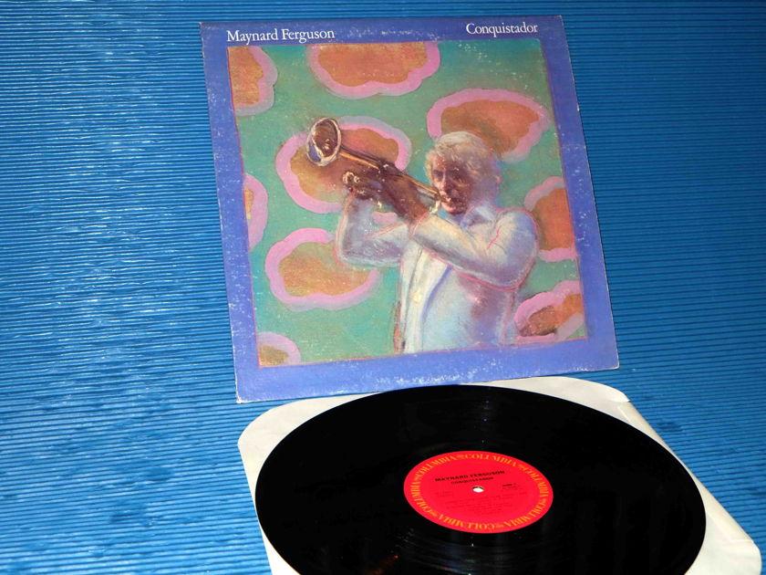 "MAYNARD FERGUSON  - ""Conquistador"" -  Columbia 1977 Early Pressing"