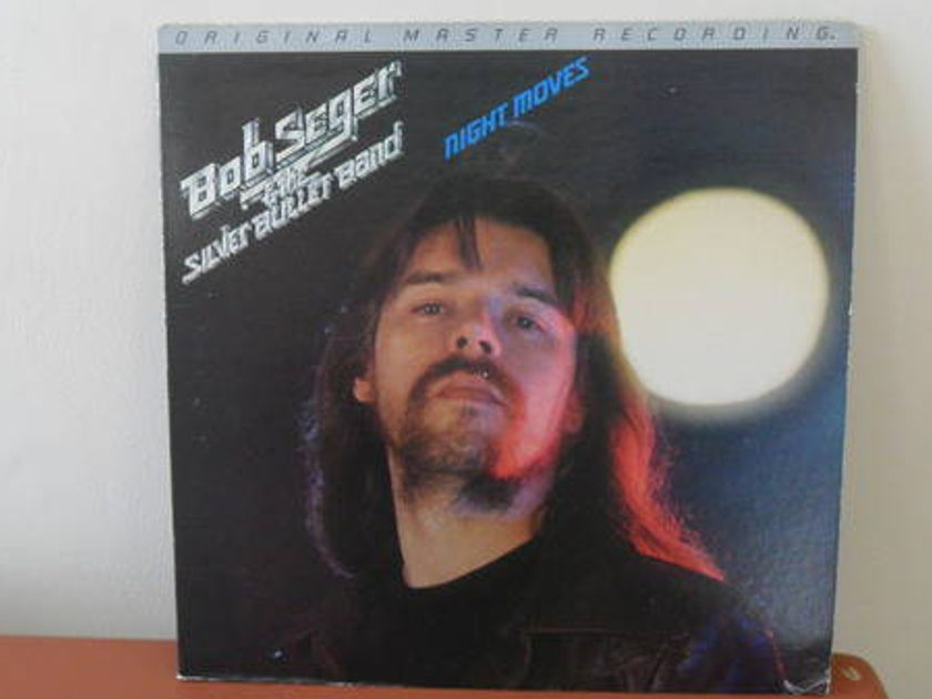 Mobile Fidelity 1/2 - SPEEd: bob seger & silver bullet band night moves