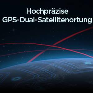 Amazfit T-Rex - Hochpräzise GPS-Doppel-Satelliten-Positionierung