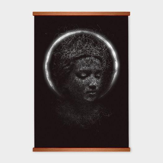 Постер «Храм» от Oh So Me (серия Home)