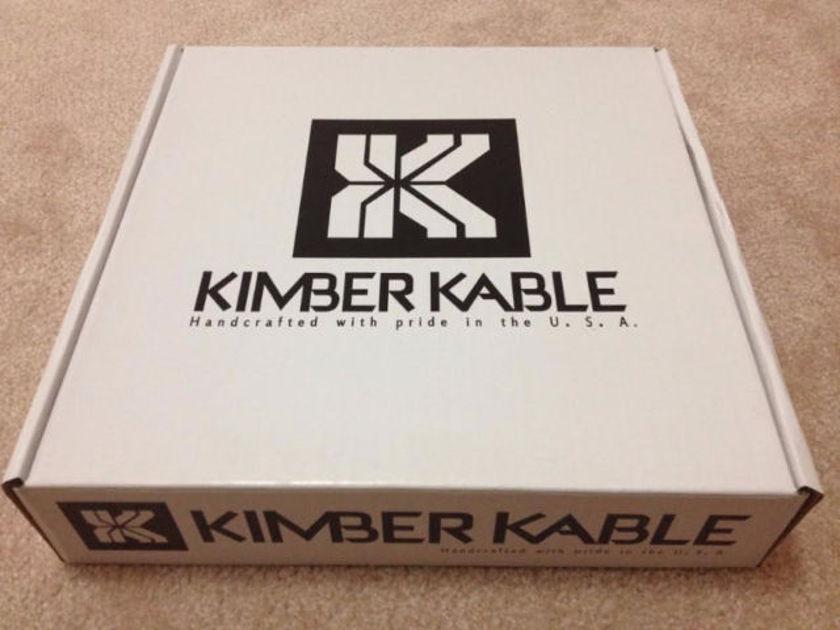 Kimber Kable 12 TC 3M 10 ft SBan Banana to Banana Pair FREE SHIPPING