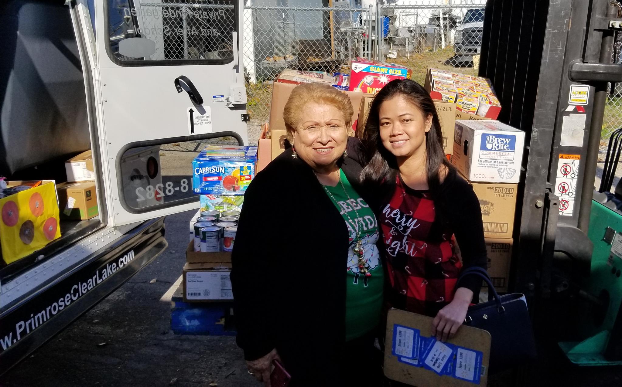 food bank, Galveston county, Clear Lake, daycare, child care, infant, toddler, preschool, pre-k, prekindergarten, giving back