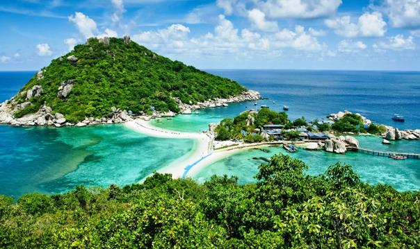 Райские острова Ко Тао и Нанг Юань