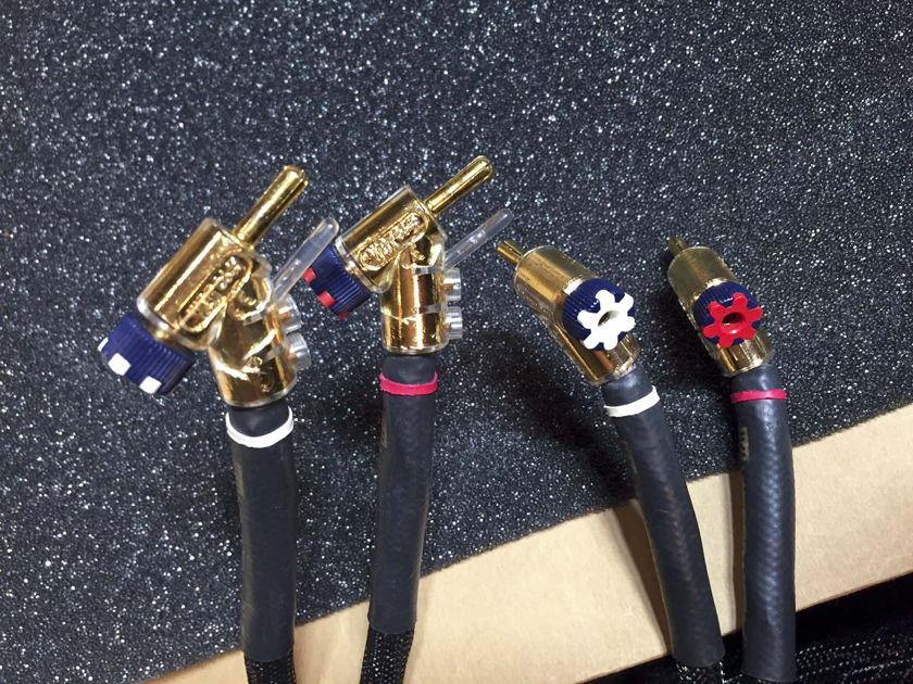 15' pair Kimber Kable Bifocal XL Internal Bi-Wire Speaker Cables SALE PENDING