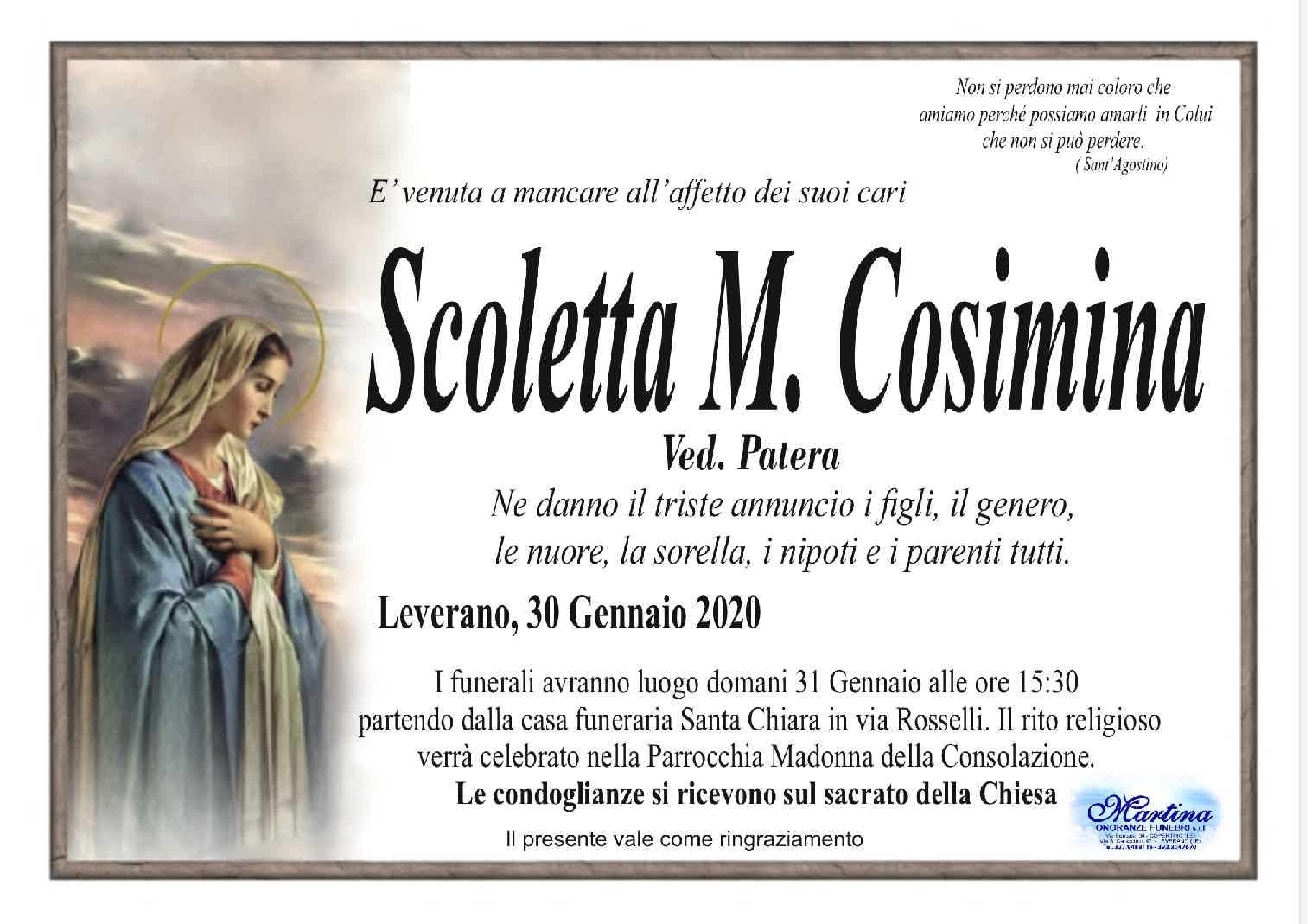 M. Cosimina Scoletta