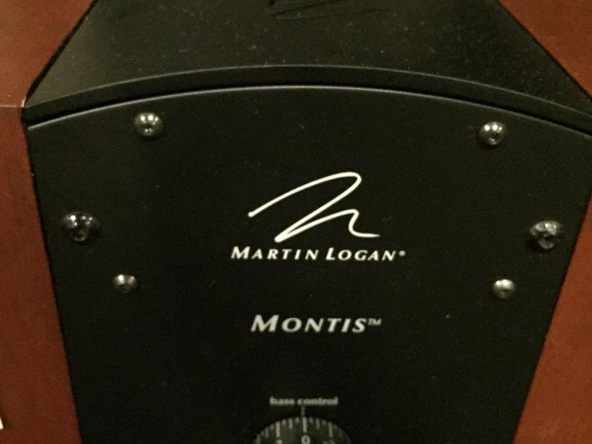 Martin Logan Montis dark cherry Perfect