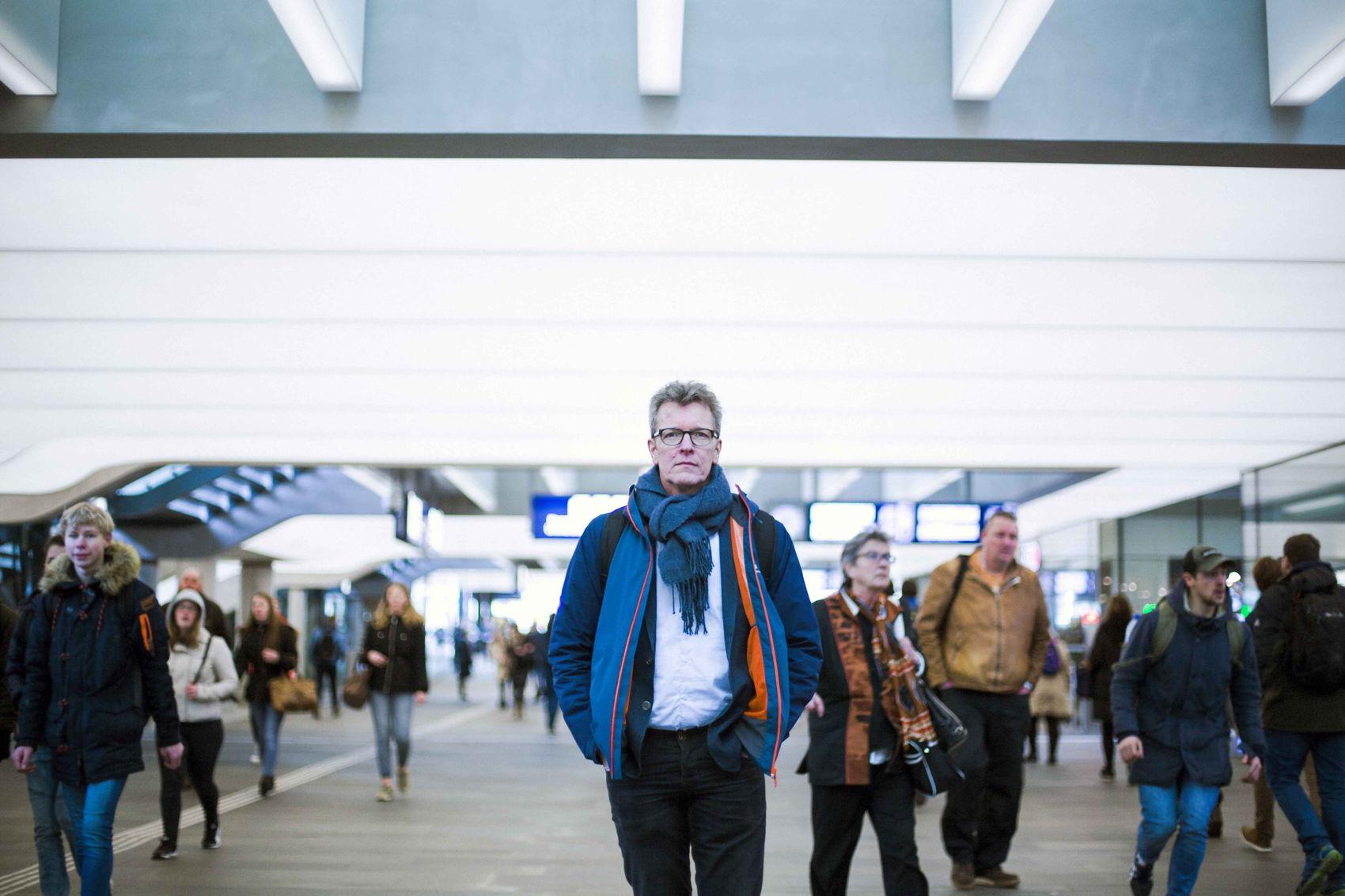 klaar voor de internationale trein Eindhoven-Düsseldorf
