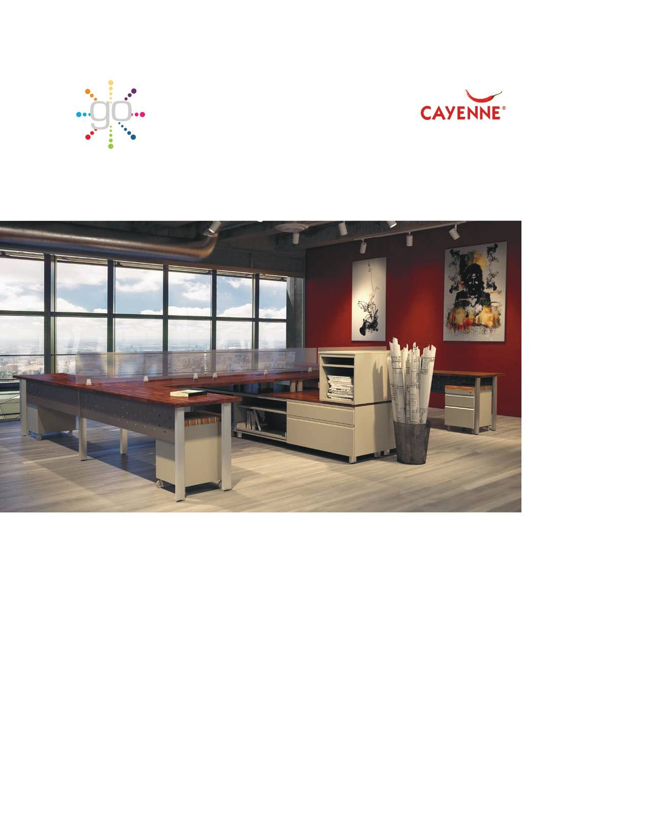 Great Openings Cayenne Furniture Brochure