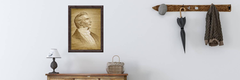 LDS art portrait of Joseph Smith Jr.