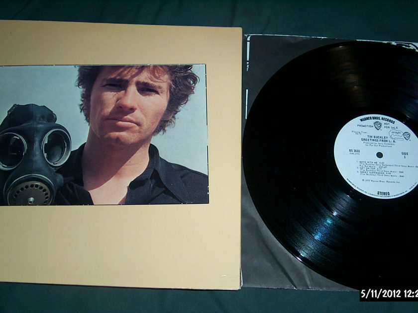 Tim Buckley - Greetings From LA white label promo lp nm