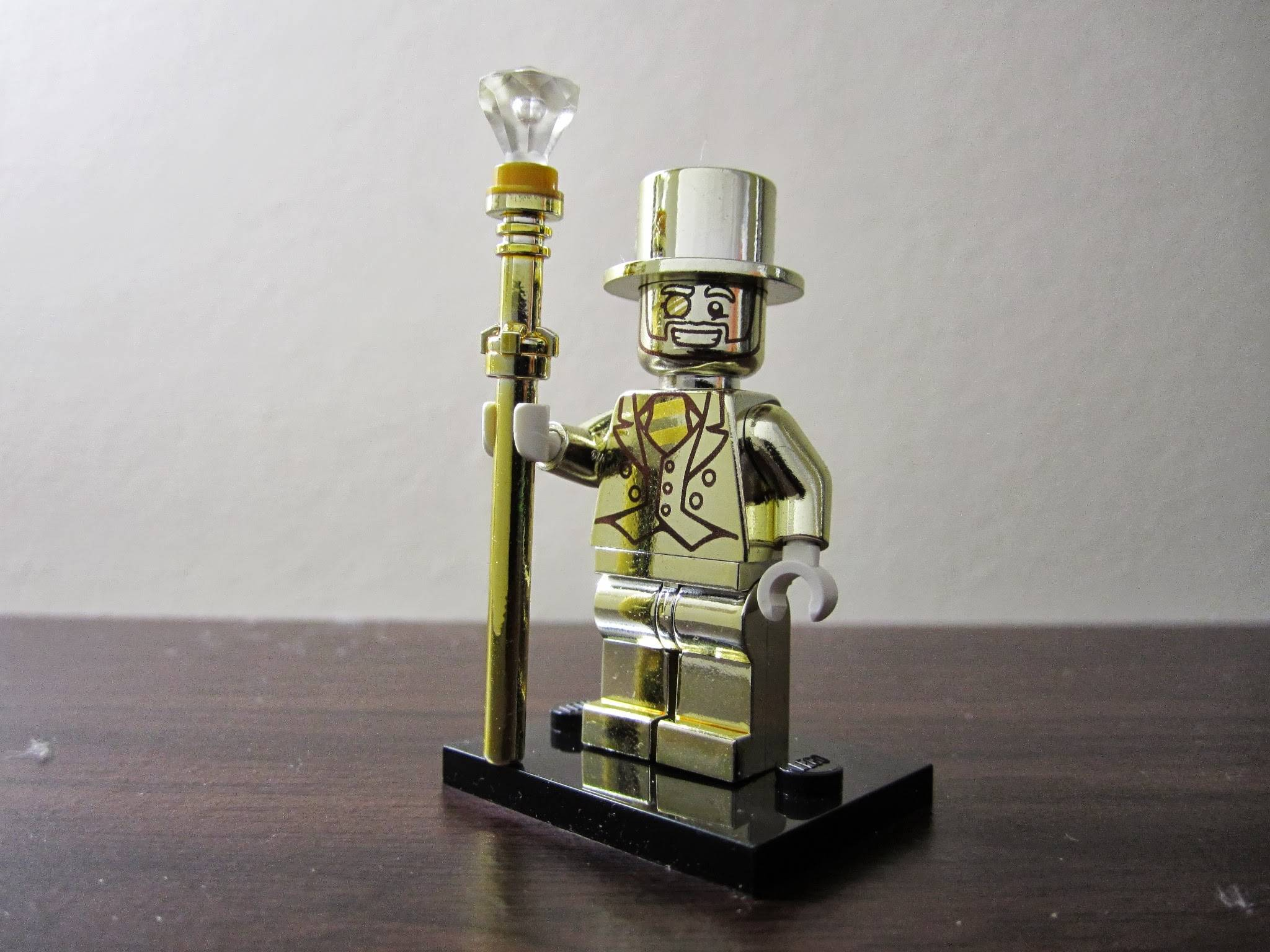 LEGO Minifigures Series 10, Mr. Gold