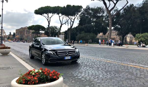 Весь Рим за 1 час на комфортабельном авто