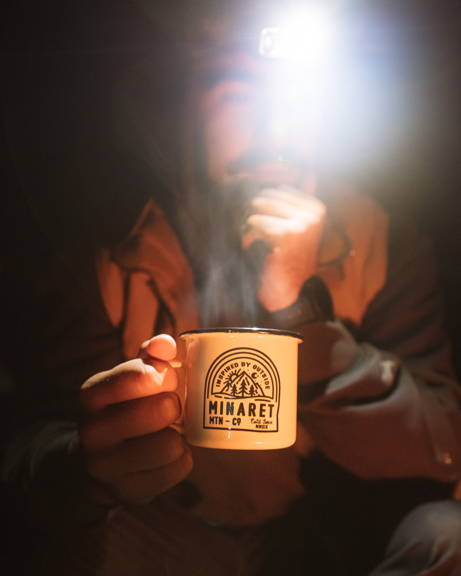 Enamel Campfire Mug for Tea