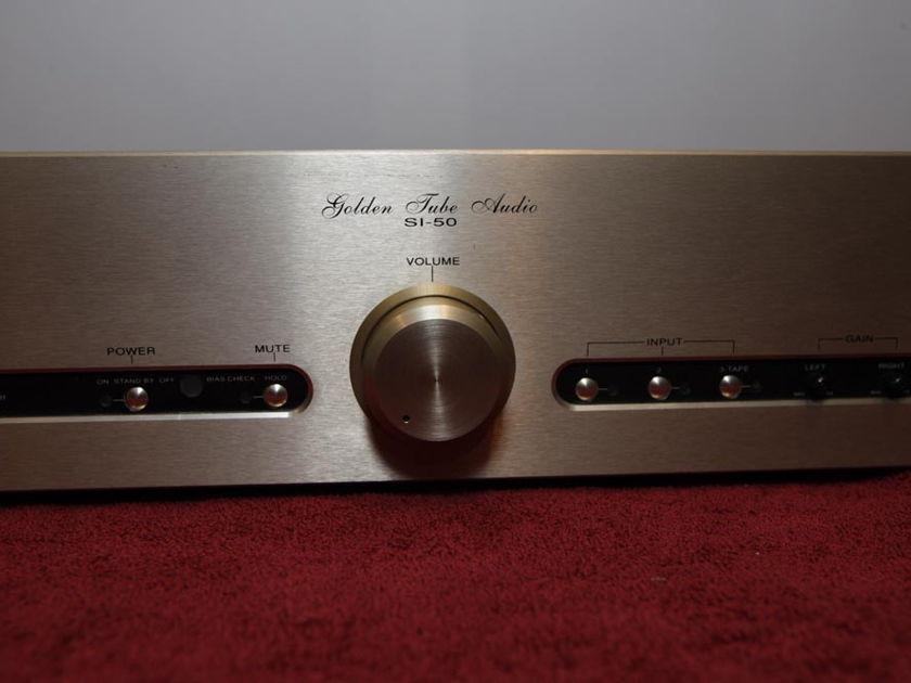 Golden Tube Audio SI-50 MkII 50 watt Tube Integrated