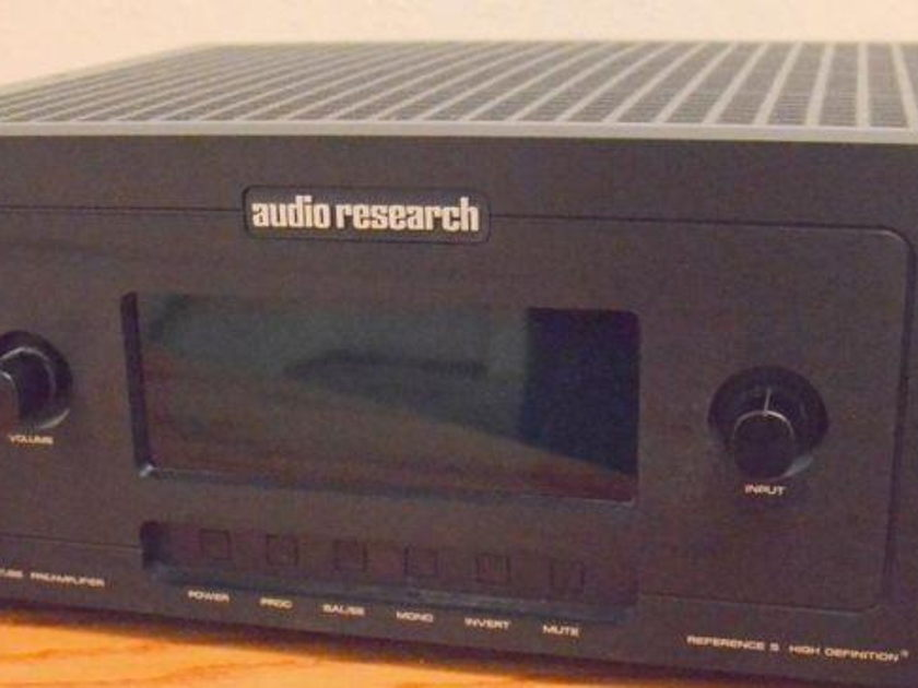 Audio Research Reference 5 Tube Preamplifier