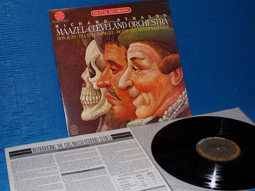 "STRAUSS/Maazel - - ""Don Juan/Til Eulenspiegel"" CBS Masterworks audiophile 1980"
