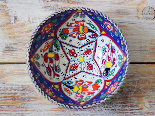 Маленькая керамическая пиала (с узором)