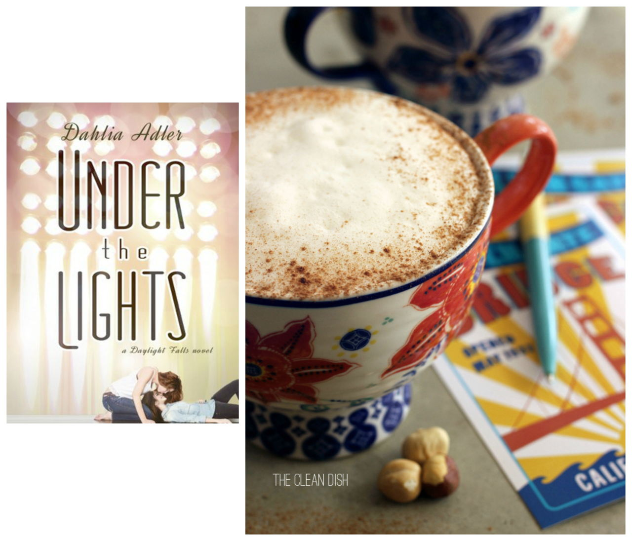 UNDER THE LIGHTS by Dahlia Alder and Latté Recipe from The Clean Dish // www.bridgidgallagher.com