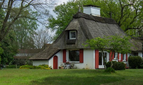 Фишерхуде — идиллическая деревня на реке Вюмме