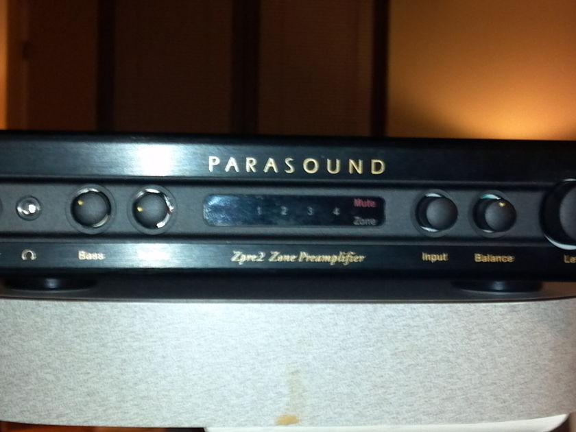 Parasound Zpre2 Zone Preamplifier w/ upgraded power supply