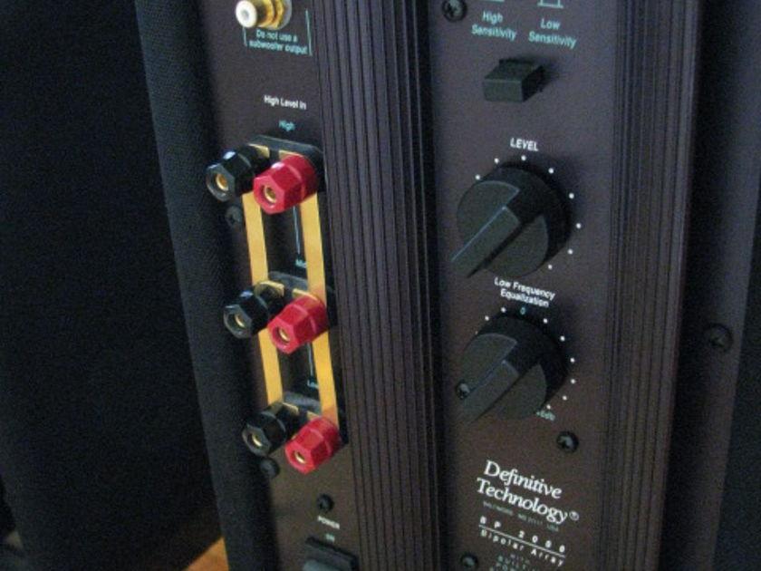 Definitive Technology BP2000 Floor standing speaker pair
