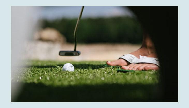 bester geburtstagde wildwakeski stonehill adventure golf aussicht wiese ball golfschläger