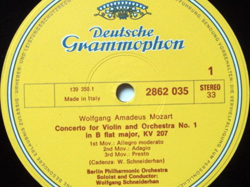 DGG / SCHNEIDERHAN, - Mozart The Complete Violin Concertos, NM, 3LP Box Set!