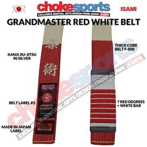 Isami Custom Made Embroidered Belts | ChokeSports com