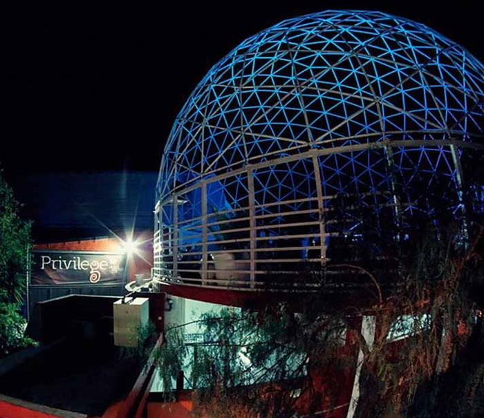 Privilege nightclub ibiza exterior, go out and clubbing guide Ibiza