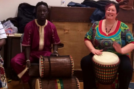 African Drumming Workshop for 4