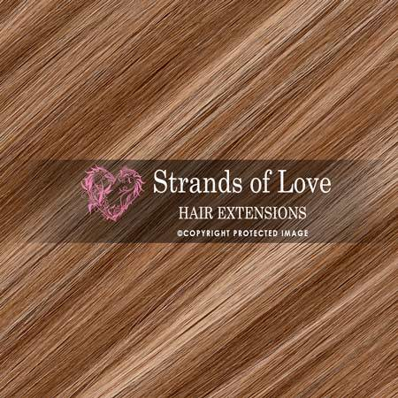 Strands Of Love Hair Extensions Colour Honey Highlight