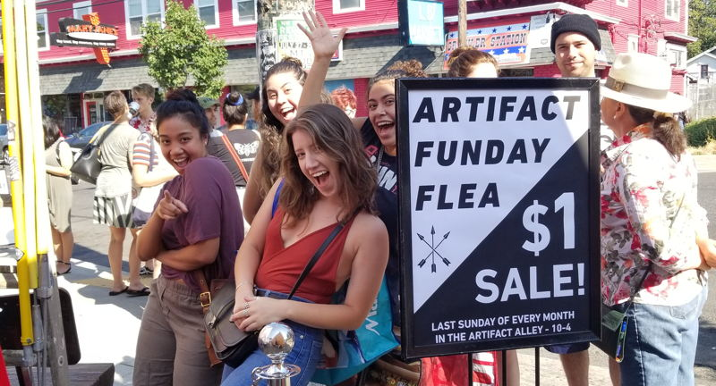 Artifact's Funday Flea!