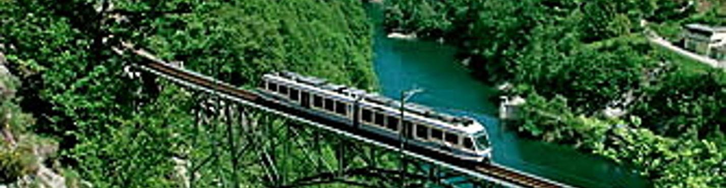 Чентовалли (Centovalli) — 100 долин. Путешествие на панорамном поезде по Швейцарии