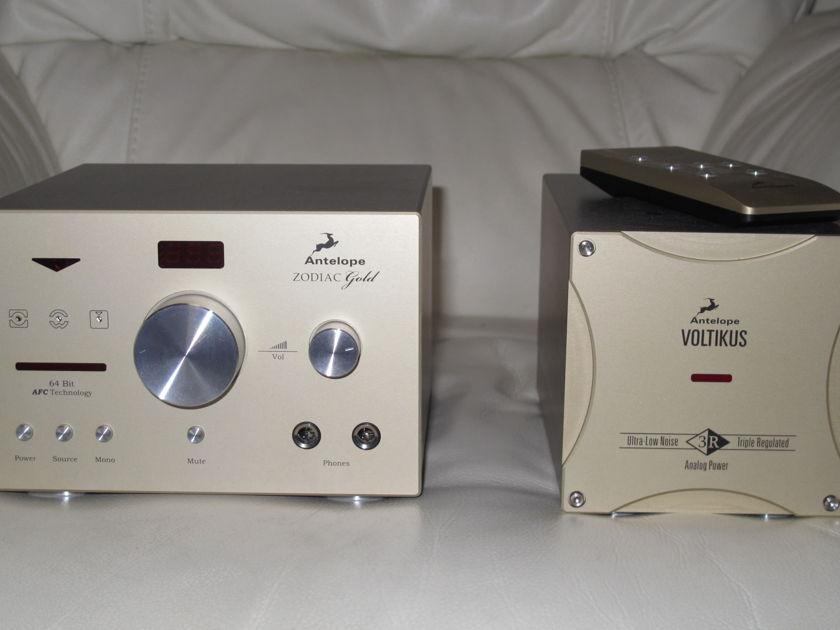 Antelope Audio ZODIAC GOLD/VOLITIKUS PSU USB 384KHz DAC