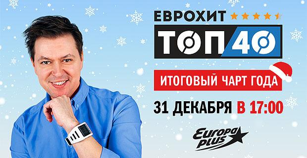 «ЕвроХит Топ 40 Итоги года 2019» с Алексеем Мануйловым на «Европе Плюс» - Новости радио OnAir.ru