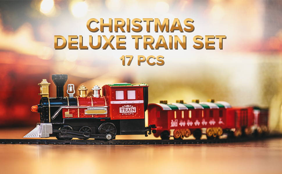 Christmas Deluxe Train Set