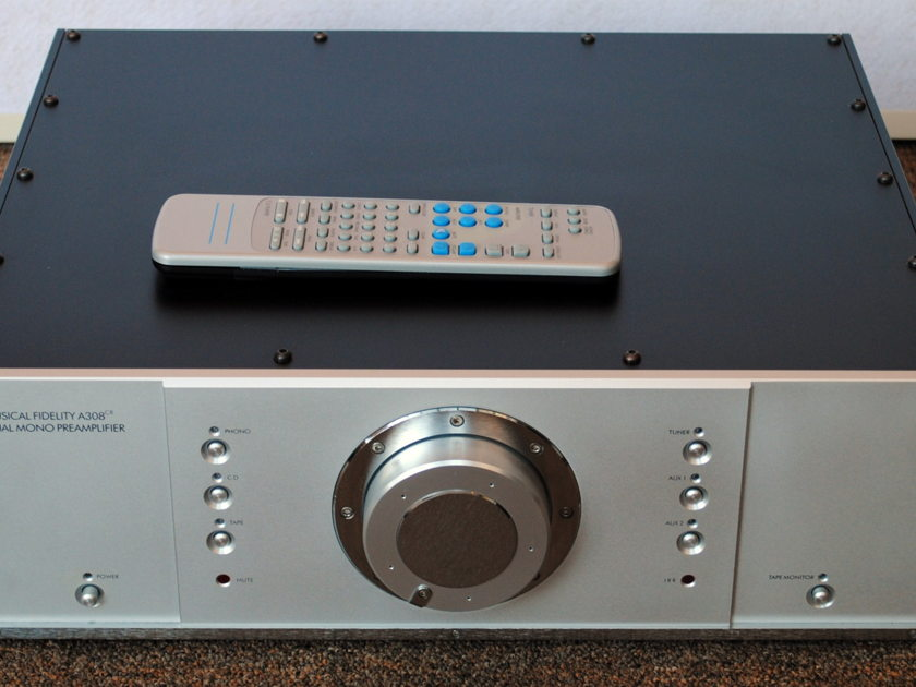 Musical Fidelity A308cr Preamplifer With Phono Stage