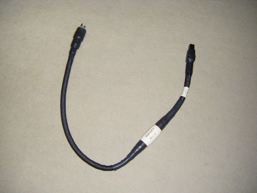 Custom Power Chord Company  Topgun HCFI  power cable 20 amp.