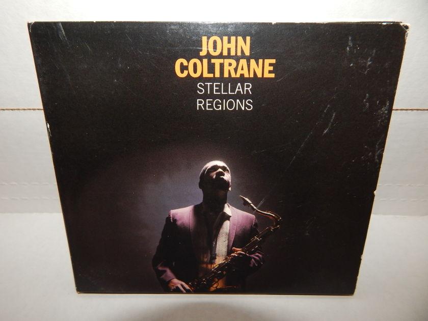 JOHN COLTRANE STELLAR REGIONS - Super 20Bit Impulse IMP-169 Trifold 14pg booklet CD